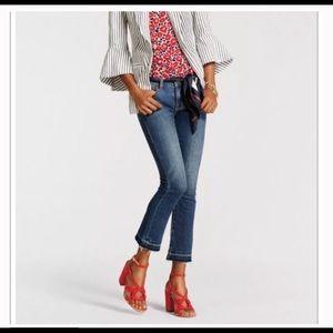 CAbi kick it crop jeans